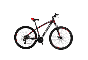 Велосипед Titan Explorer 29 2019 black-red-white