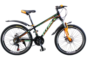 фото Велосипед Titan Atlant 24 12 2019 black-green-orange