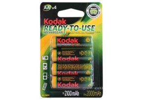 фото Аккумулятор Kodak Ready-To-Use HR6 AA Ni-MH 2100 mAh