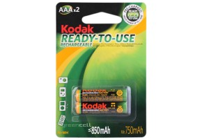 фото Аккумулятор Kodak Ready-To-Use HR03 AAA Ni-MH 850 mAh