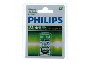 фото Аккумулятор Philips MultiLife AAА 1000 mAh NiMH