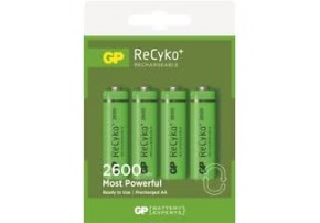фото Аккумулятор GP ReСyko Most Powerful 1300 mAh AA Ni-MH 4pcs/box