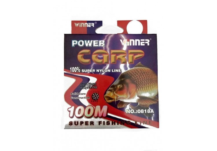 фото Леска рыболовная Winner Power carp 0.40mm 100m sf-851