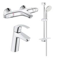 Набор смесителей для ванны Grohe EX GRT1000+Eurosmart 34101TM