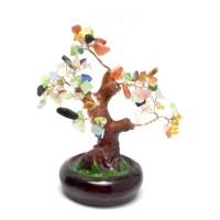 Дерево с разноцветными камнями (15х16х14 см) (801-804) 22768A
