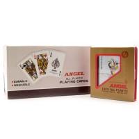 Карты игральные пластиковые ANGEL (10х9х2,3 см) 23957
