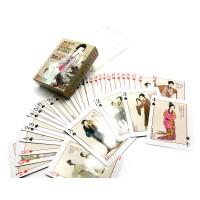Карты игральные Девушки из древне-китайской живописи (10х7,5х2,5 см) 25203