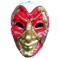 Маска карнавальная Венецианская папье-маше (24,5см) 29026