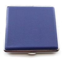Портсигар синий (10х8,5х2 см) 29474C