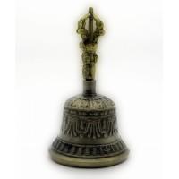 Колокол чакровый бронзовый (№2)(d-8,h-14.5 см)(Непал)(Bell Embose No.2) 3210
