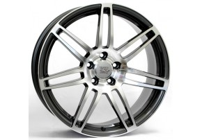 фото WSP Italy AUDI W557 S8 COSMA TWO R16 W7 PCD5X112 ET39 DIA66,6 ANTHRACITE POLISHED