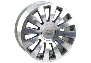 WSP Italy AUDI W535 A8 RAMSES R16 W7 PCD5X100/112 ET42 DIA57,1 ANTHRACITE POLISHED